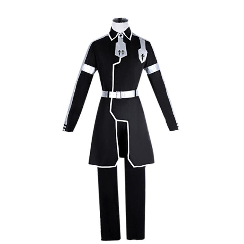 Меч Книги по искусству-алисизация Косплэй костюм Kazuto Kirigaya Косплэй Для мужчин Аниме Костюм