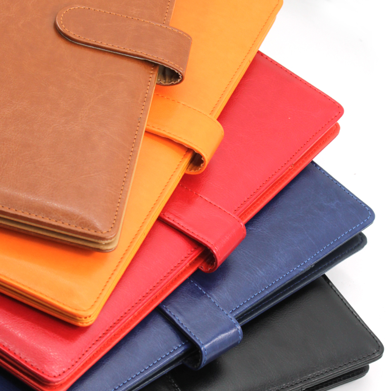 A4 Clipboard Folder Portfolio Multi-function Leather Organizer Sturdy  Office Manager Clip Writing Pads Legal Paper Contract 2
