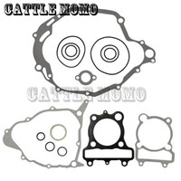 Motorcycle Parts Head Cylinder Gaskets Engine Starter Cover Gasket Oil Seal Kit For Yamaha XT 225