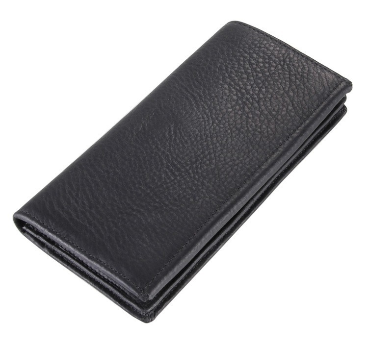 New style male wallets long wallets for men genuine leather mens purses causal simple designed wallet money clips