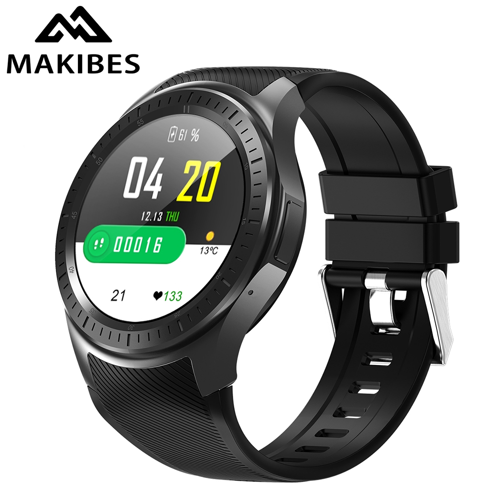 Makibes AT06 4G GPS Smart Watch Blood Pressure Fitness tracker Phone Android 7.1 600mAh Battery WIFI Google for xiaomi huawei