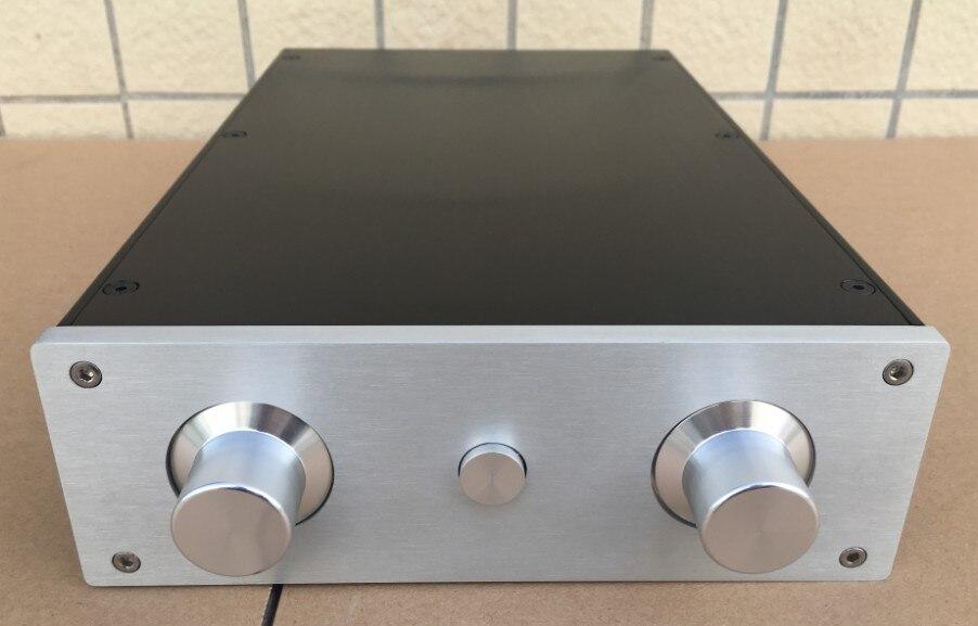 Aluminio chasis del amplificador de potencia/amplificador de audio en casa caso