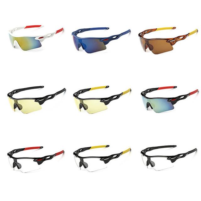 Fashional Cycling Eyewear Unisex Outdoor Sunglass UV400 Bike Cycling Glasses Bicycle Sports Sun Glasses Riding Goggles