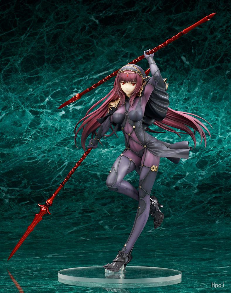 25cm Fate/Stay Night Fate Grand Order Lancer Scathach sexy girl Anime Action Figure PVC New Collection figures toys Collection inov 8 носки speed sock low l white