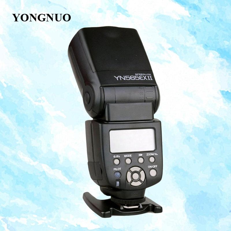 YONGNUO YN-565EX II Wireless TTL Flash Speedlite YN565EX II for Canon 6D 60D 5D mark III 550D 1100D 650D 600D 700D 7D 5D2 Camera yongnuo flash speedlite yn 560 iii yn560iii for canon 5d ii 5d2 5d3 7d 6d 60d 50d 40d 700d 650d 600d 550d 500d 350d 1100d 1000d