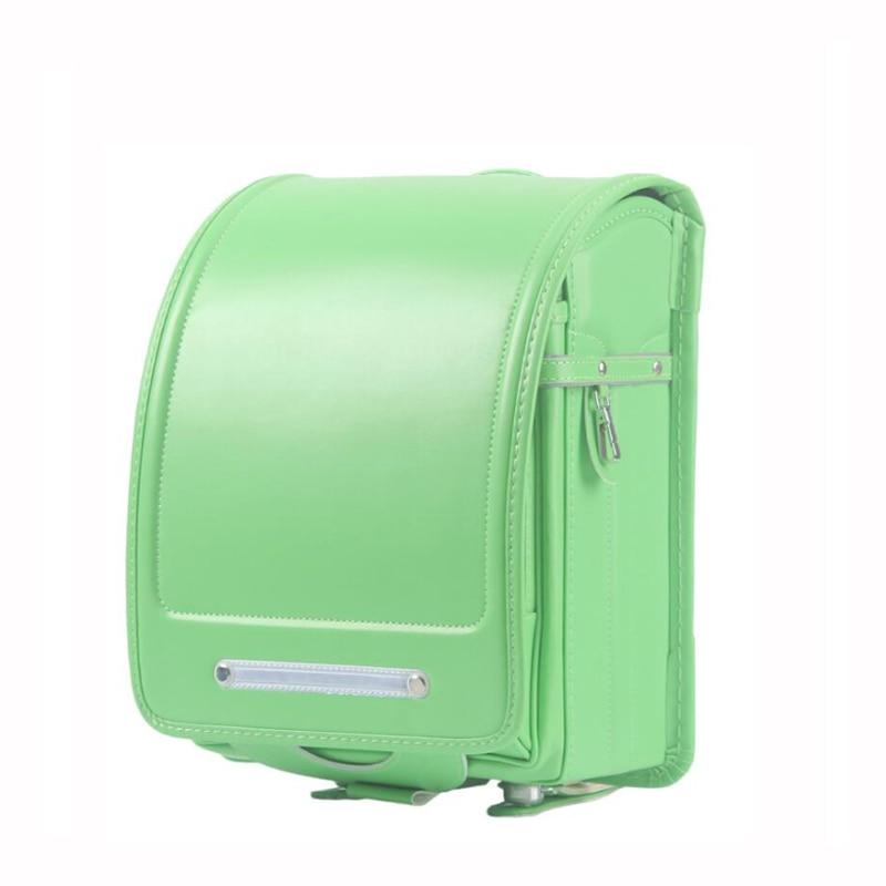 아이 정형 외과 학교 가방 아이들을위한 pu 가죽 배낭 금속 hasp 일본 randoseru 등급 1 3 학생 도서 가방 14 색-에서학교가방부터 수화물 & 가방 의  그룹 1