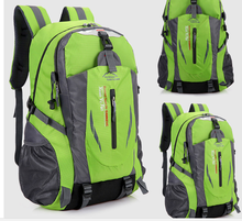 New 40L Men Women practical Backpacks Hot Nylon Waterproof  Bags  Men Outdoor climbing Backpack Ruchsack