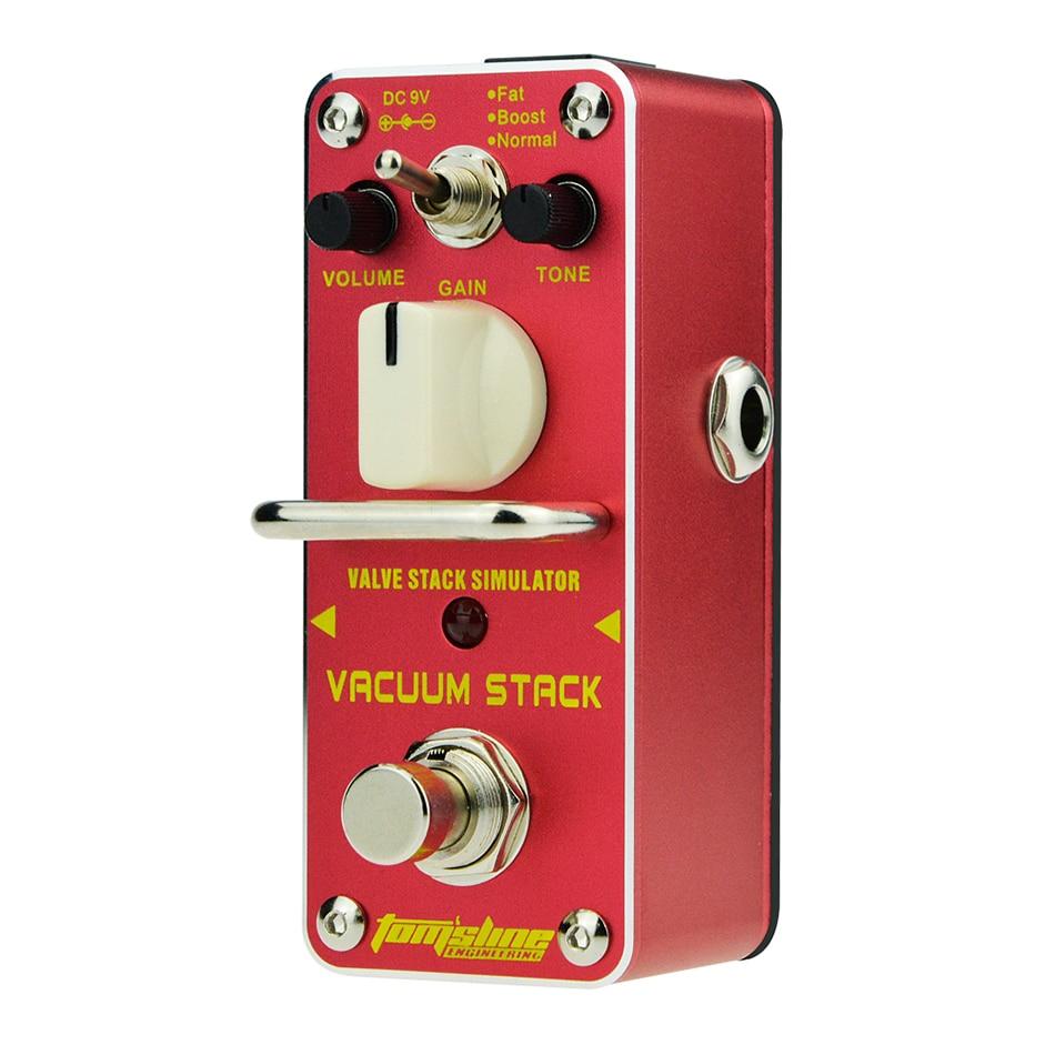 tom sline avs 3 vacuum stack valve stack simulator guitar effects pedal true bypass. Black Bedroom Furniture Sets. Home Design Ideas