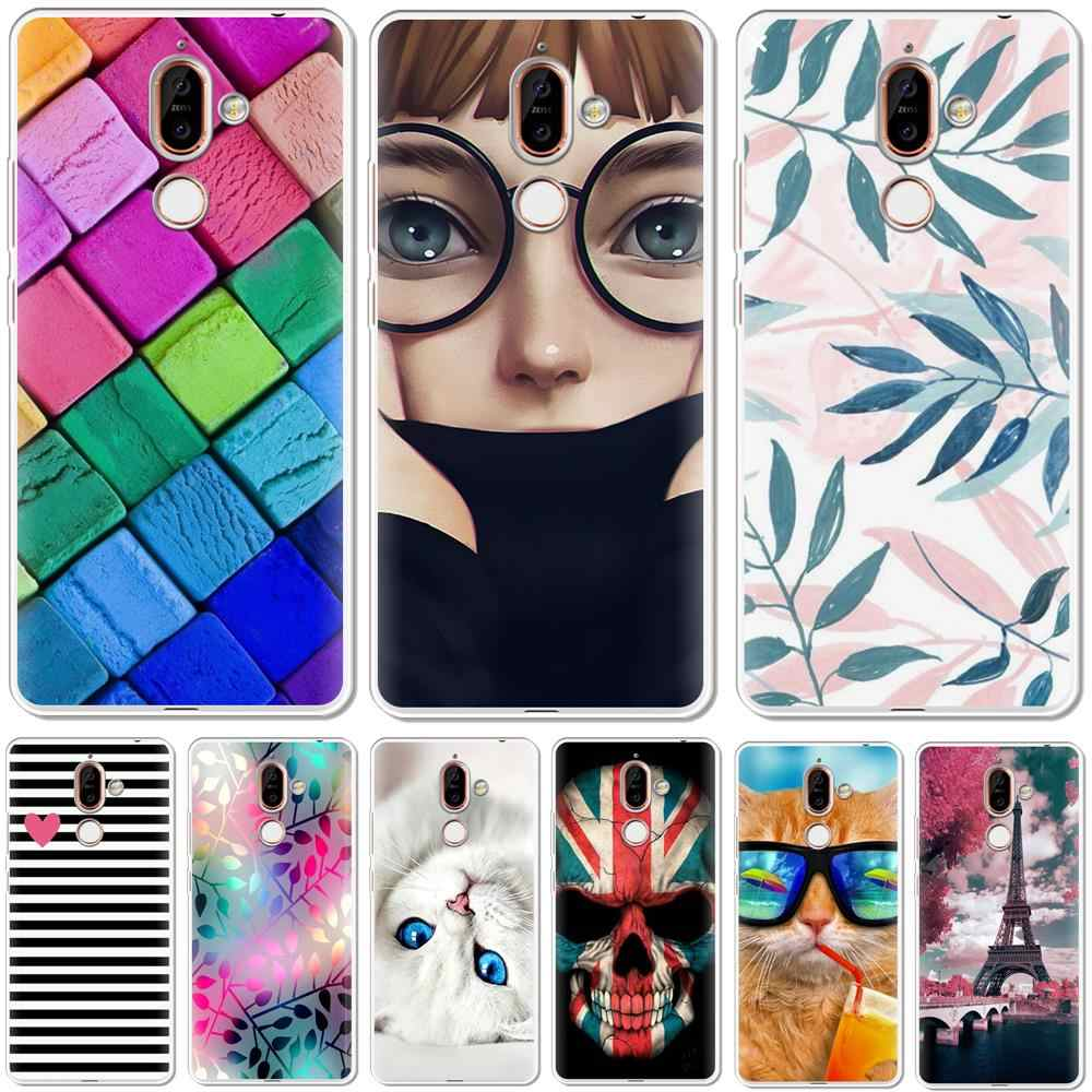YIKS Soft Silicone TPU Phone Case Cover For Nokia 1 3 5 8 6 2 7 9 2.1 3.1 5.1 6.1 7.1 Plus 2018 Phone Back Cases Coque Etui