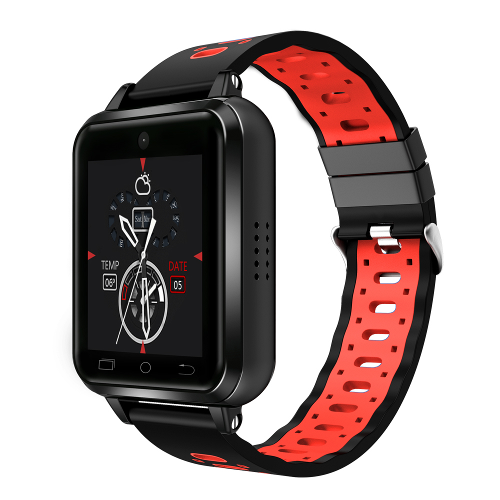New Q1 MTK6737 Quad Core Android 6 0 4G Smart Watch 1GB 8GB SmartWatch Phone Heart