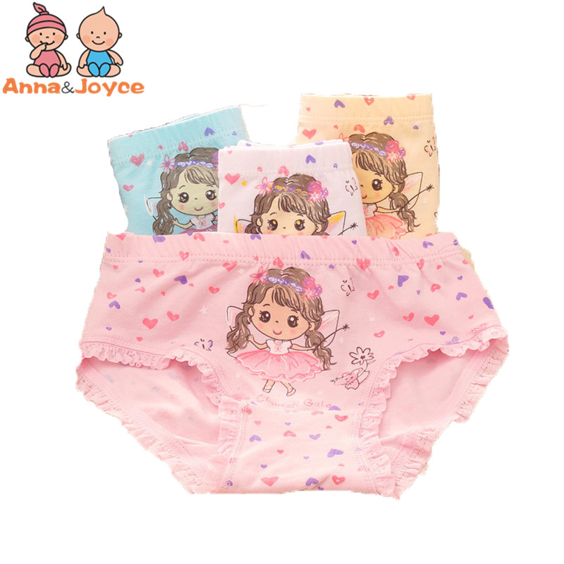 sale 6 pcs/lot girls briefs cute underwear character baby girl underwear panties for 3-8Y aTNN0097
