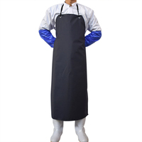 Waterproof PVC Apron Men Women Anti Oil Apron Butcher Cooking Apron Chef Workwear Bib Household Cleaning