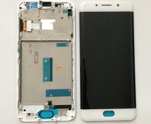 Testati Al 100% di Alta Qualità 5.46 di pollice Bianco/Nero Per BBK Vivo XPlay 6 DIsplay LCD + Touch Screen Digitizer montaggio