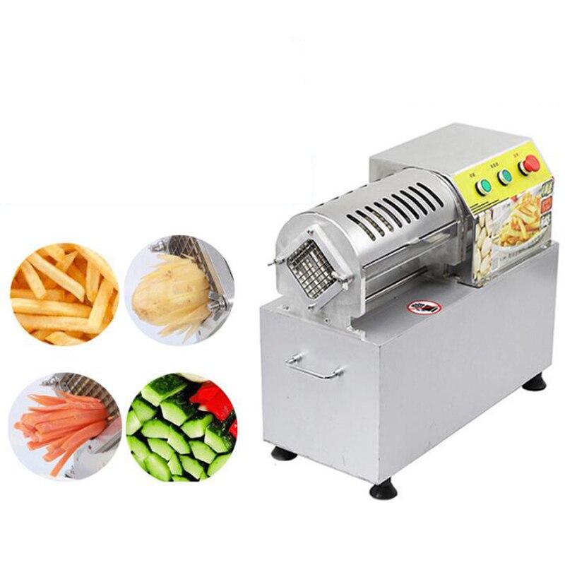 Высококачественная серийная электрическая фри машина из нержавеющей стали лезвие овощерезка машина фри