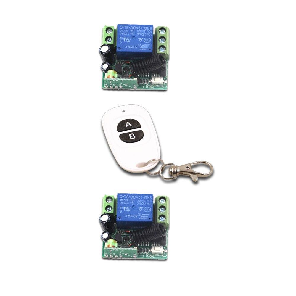 Casa inteligente 12 V Mini RF Wireless Remote Control System 1 Transmisor Recept