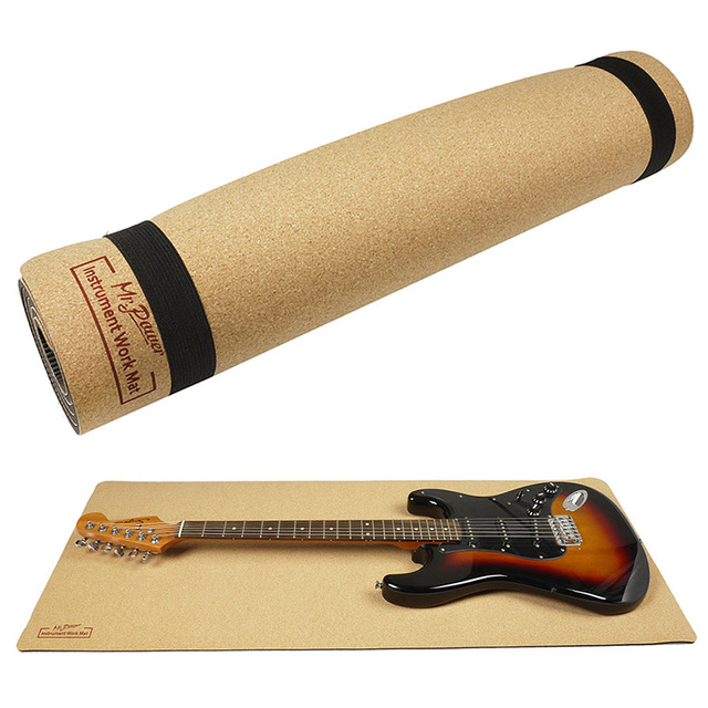 Guitar Protection Cork Pad with Neck Rest
