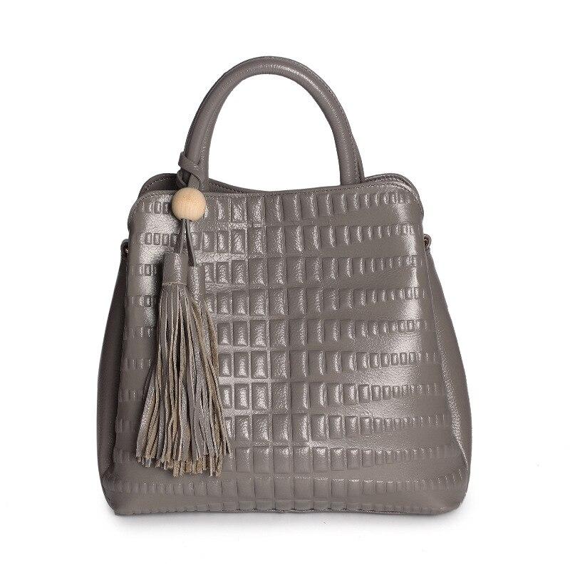 ФОТО Genuine Leather Bag Vintage Women Handbag First Layer Real Leather Women Bag Fashion Shoulder Bags bolsas sac