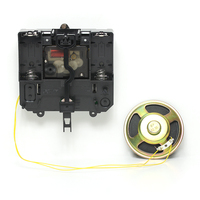 Power Silent Movement with Music Chime Box Plastic Quartz mechanism with hands & pendulum drive units DIY Clock Accessory Kits