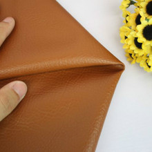 Width 140cm Faux Leather Upholstery Fabric Brown Solid Color Handmade DIY Patchwork PU Leather Fabric Sewing Purse Decoration 6pcs 20x22cm shinny glitter fabric diy sewing patchwork faux leather upholstery fabric hnadicarft diy bow accessories material