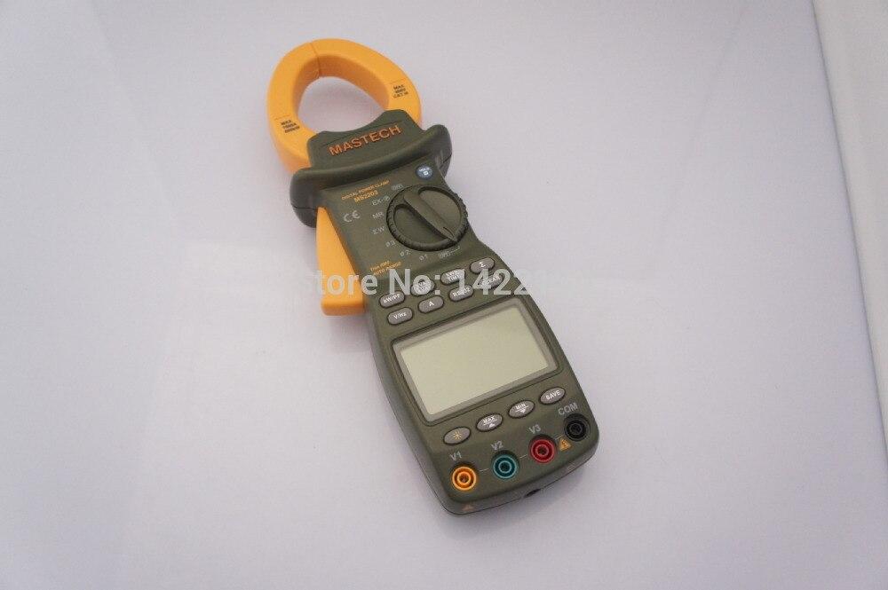 MASTECH MS2203 3 фазы цифровой измеритель мощности с зажимом с RS232 кабель