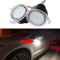 1-20 пар светодиодный светильник под зеркалом 12 В для Ford EDGE EXPLORER Mondeo aurus F-150 Expedition S-Max Fusion Flex аксессуары