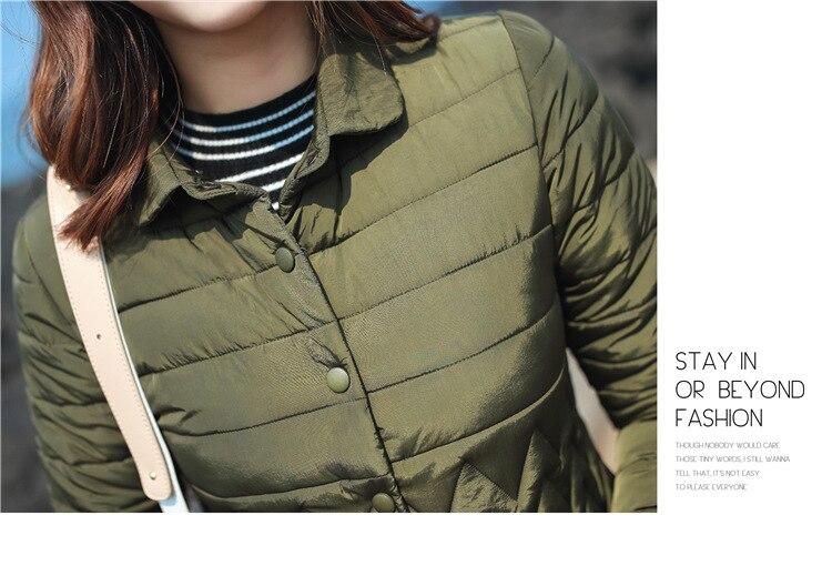 8a4753acc Detail Feedback Questions about Winter Jacket Women Windbreaker ...