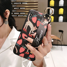 2019 3D Relief Case with Holder for Samsung S8 S9 plus S10 Summer Flower Note 8 9 Cover