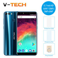 Ulefone Mix 2 4G Smartphone 5 7 Inch HD 13MP Dual Cameras Mobile Phone MTK6737 Quad