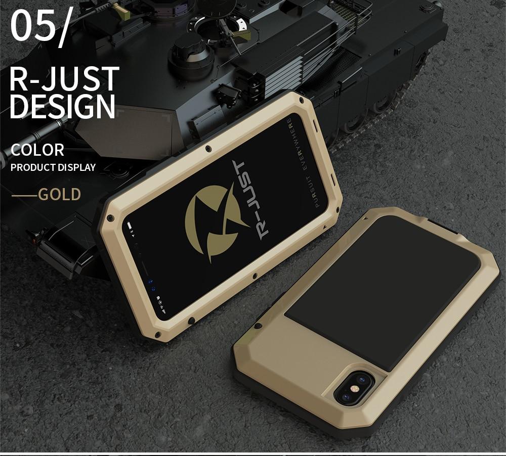 HTB1zVOKeL5TBuNjSspmq6yDRVXaH Heavy Duty Protection Doom armor Metal Aluminum phone Case for iPhone 11 Pro Max XR XS MAX 6 6S 7 8 Plus X 5S 5 Shockproof Cover