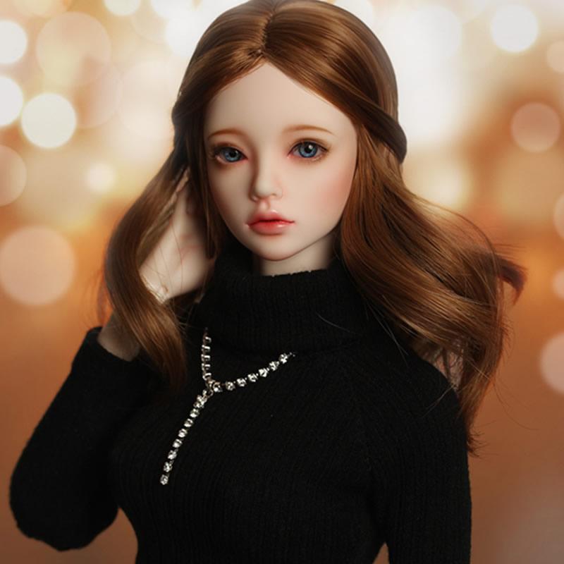 Regalo de juguete modelo de resina de muñeca con junta SD de chica BJD desnuda de 1/4, no incluye ropa, zapatos, peluca y otros accesorios D2116-in Muñecas from Juguetes y pasatiempos    2