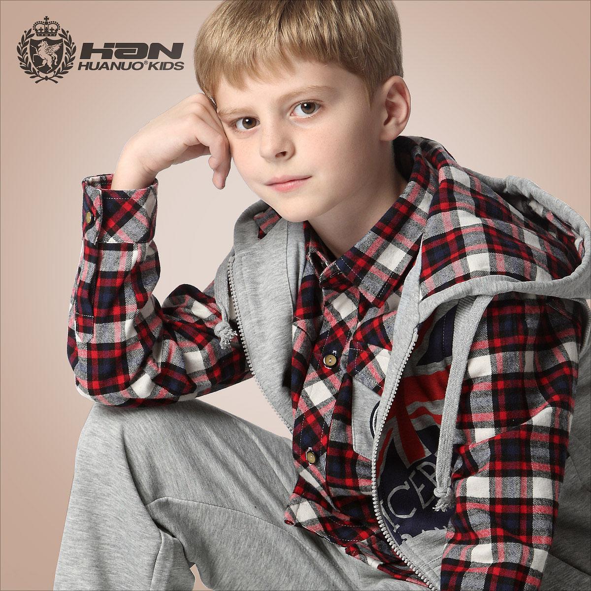 Teen Boy Clothing 3 Piece Suit Set Shirt Sleeveless