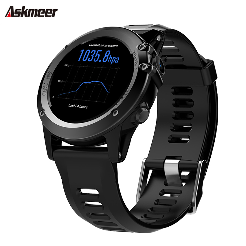 ASKMEER Smart watch 1.39'' Fitness tracker smart Watches Answer Calls heart rate monitor IP68 Waterproof 480Mah For Android iOS