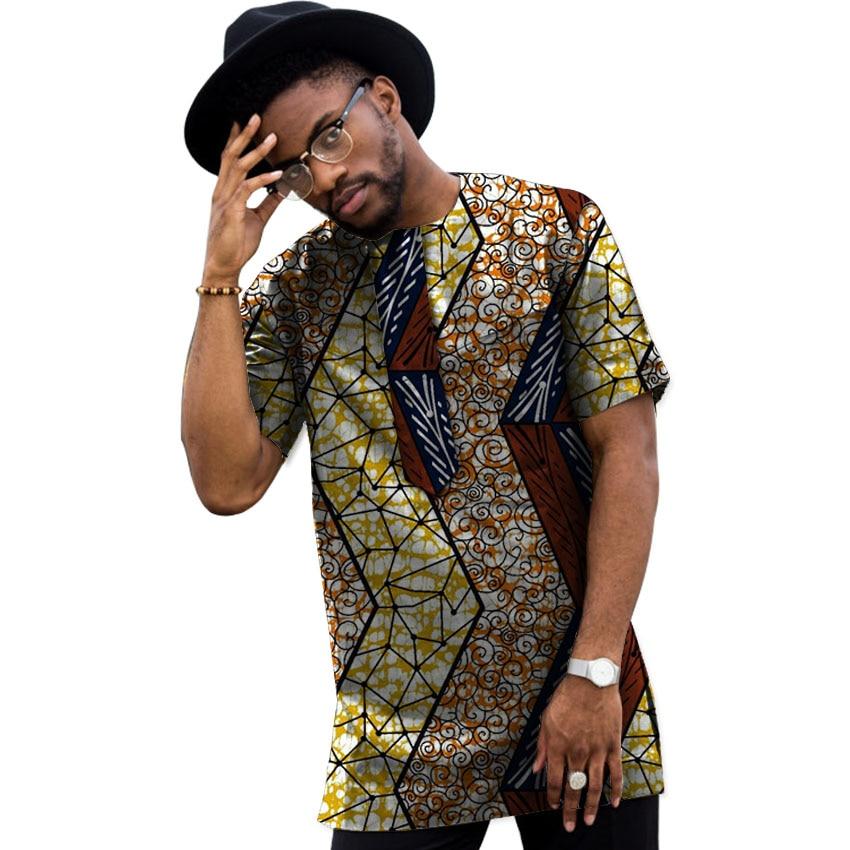Sommar Dashiki Män Klänning Afrikansk Kläder Mode Tryck Korta - Nationella kläder - Foto 6
