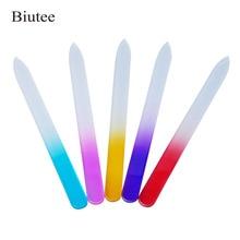 Biutee 1pcs Durable Nail Buffer Block File Tool Nano Glass Buffer Sanding Polishing Grinding Nail Art Manicure Device недорого