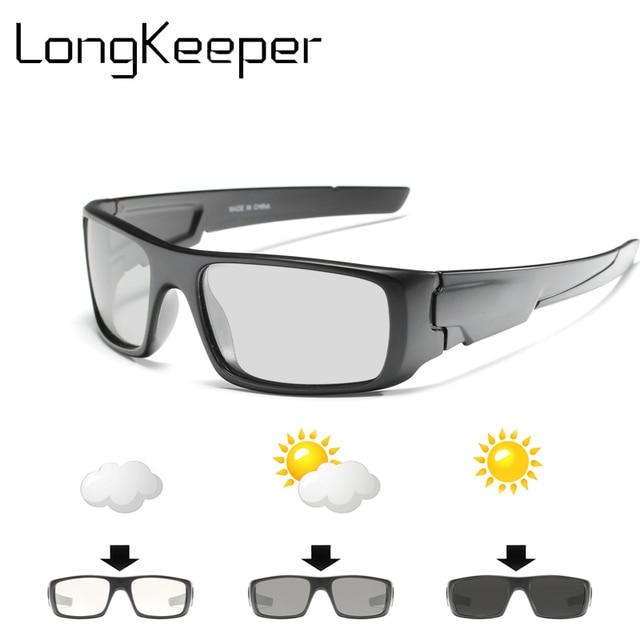 717df901c27 2018 Driving Men s Photochromic Polarized SunglassesCar Driving Goggles Sun  Glasses Lunettes De Soleil Pour Hommes Shades Men
