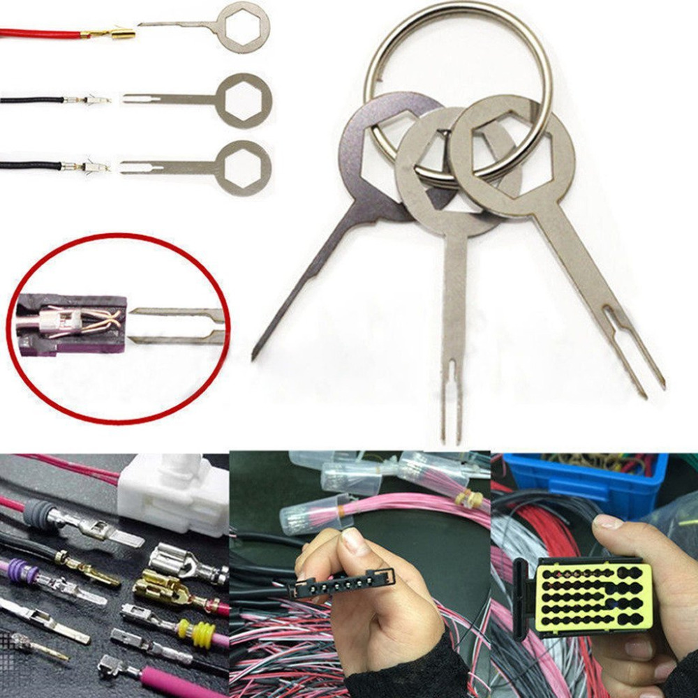 Computer Wire Pin Remover Extractor Tool For 4 Pin Molex Power Connector