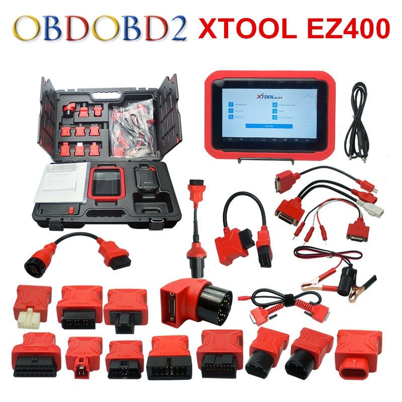 2017 100% Originale Xtool EZ400 Strumento Diagnostico Aggiornamento Gratuito Online EZ 400 Con Wifi Libero del DHL
