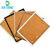Free Shipping XINDI 5 Colors MDF Frame Bulletin Cork Board 30 40cm Memo Photos Pin Board