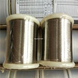 النيكل سلك 0.025 ملليمتر الطهارة 99.99% 1 كيلوجرام عينة ، شحن مجاني