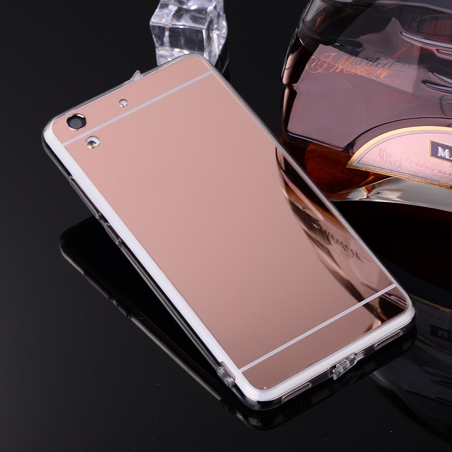 Cases for Y5II Huawei Y3 Rose-Gold Transparent Y6-Ii Flexible Silicone 2-Y3ii Mirror