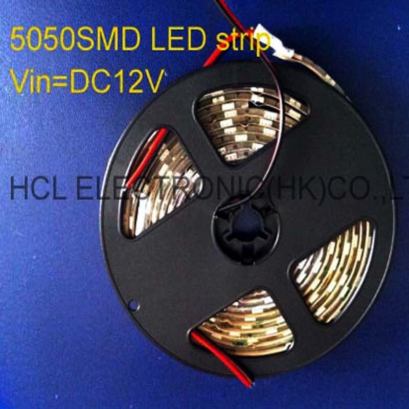 0c19ab3350b ▻High quality 5050 3 chips DC12V led flex strip 60pcs m