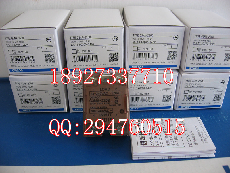 [ZOB] 100% new original OMRON Omron Solid State Relays G3NA-220B AC220V --2PCS/LOT [zob] 100% new original omron solid state relay base p7sa 10f 2pcs lot