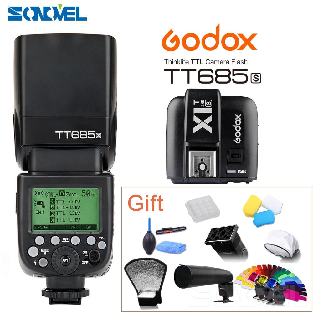 TT685S Godox TTL HSS GN60 Speedlite Flash X1S Trigger Transmitter for Sony A7 II A7R A7S