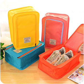 8 Color New Nylon Mesh Travel Portable Tote Shoes Pouch Waterproof Storage Bag Organize Bag Travel Storage Use фото