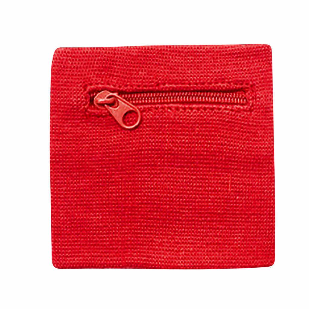 ファッション新レディース腕時計財布ポーチバンドジッパーランニング旅行ジムサイクリング安全コイン財布変更スポーツバッグ d522