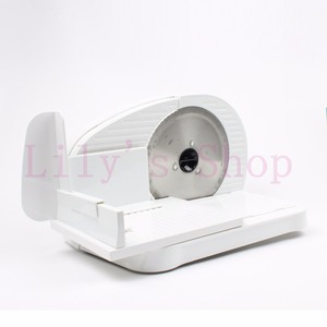 JIQI Automatic Mini Electric Meat Slicer Frozen Mutton Roll Grinder Food Mincer Beef Lamb Cutting Machine Vegetable Bread Cutter