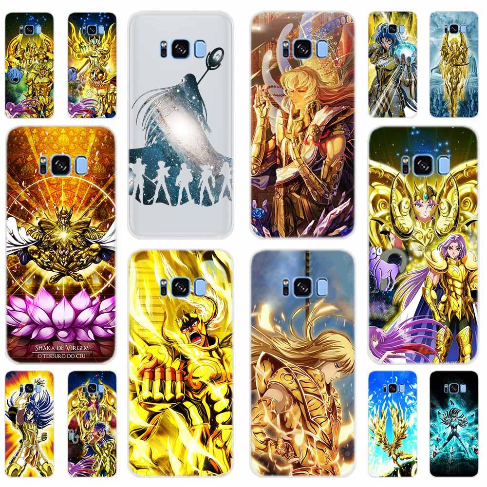 Saint Seiya Soft TPU Cover For Samsung Galaxy S6 S7 Edge S8 S9 Plus S10 Plus E Note 8 9 S5 Case 5G