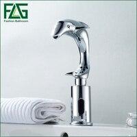 FLG Dolphin Design Automatic Taps Automatic Sensor Faucet Automatic Hand Wash Basin Sensor Tap Faucet