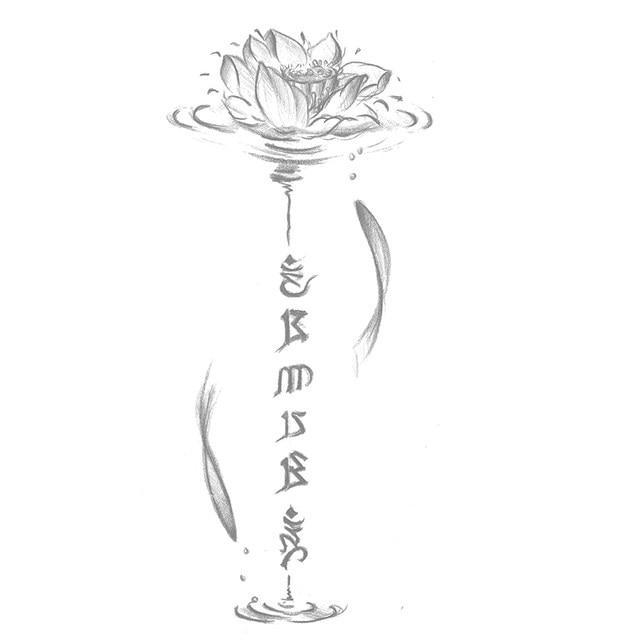 fleur de lotus tatouage best tatouage fleur zoom sur le mysticisme derrire le lotus et la fleur. Black Bedroom Furniture Sets. Home Design Ideas