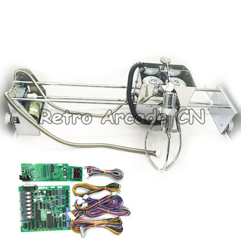 Gantry with claw and motor, motherboard parts arcade cabinet coin game kit for DIY toy crane machines